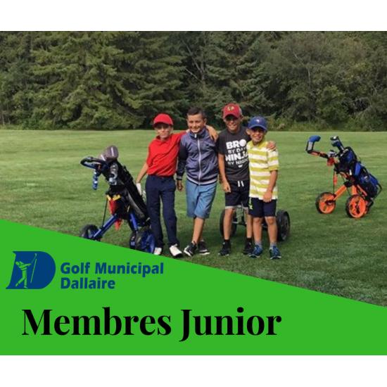 Membres Junior 2021