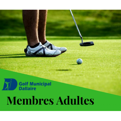 Membres Adultes 2020