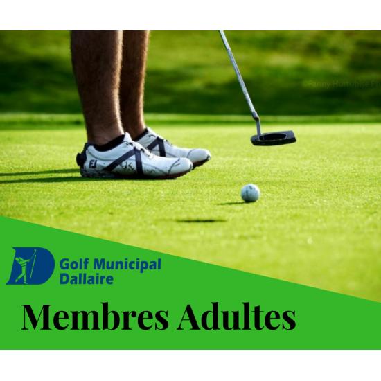 Membres Adultes 2021