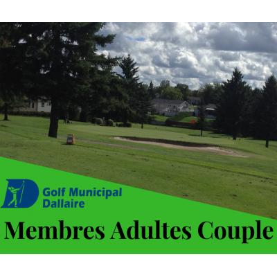 Membres Adultes Couples 2020